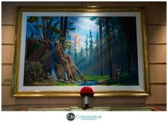 disney cruise line wedding on the fantasy collette mruk photography floral bouquet