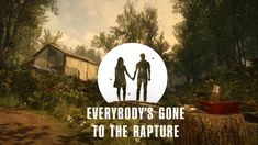 Image result for everybody's gone to the rapture logo