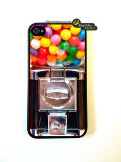 Cool Stuff We Like Here @ CoolPile.com ------- << Original Comment >> ------- Iphone 4 Case Gumball Machine iPhone 4S Case.