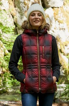 An updated, vest version of the original, the Yukon Classic Down Vest is a lightweight down insulator is, in every way, a classic. #eboriginal