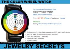 ► ► This COOL Color Wheel Watch gives you Color anyTIME!