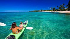 I want to kayak in Hawaii