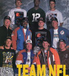 90s NFL QBs Rocking Zubaz