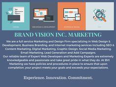 We are a full service, award winning Marketing and design firm. brandvisioninc.com