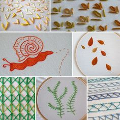 Hand Embroidery Step by Step Stitch Tutorials by Artyfibres