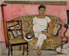 Yannis Tsarouchis Greek 13 January 1910 20 July 1989 was a Greek painter Yannis Tsarouchis Yannis Tsaro Henri Matisse, Figure Drawing Practice, Figurative Kunst, Queer Art, Art Database, Portraits, Gay Art, Caravaggio, Find Art