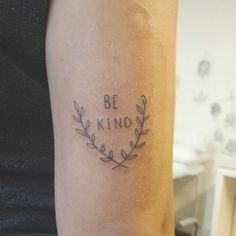 Be kind Tattoo