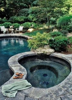 By going with a swimming pool with Jacuzzi design, you can enjoy your yard all year long. So decide the kind of swimming pool and hot tub would suit your garden best and get pinning the best ideas we have got for you at glamshelf.com