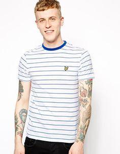 Camiseta de rayas finas de Lyle & Scott Vintage