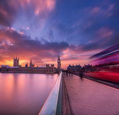 Westminster Bridge Traffic