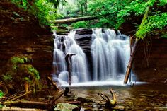 My favorite photo of Ricketts Glen. See the Gallery . Glens Falls, The World's Greatest, Day Trips, Countryside, Fine Art America, Wall Art, Waterfalls, Outdoor, Outdoors