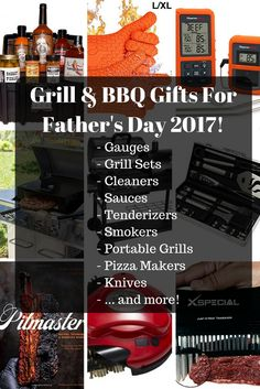 grill & barbecue gifts for fathers day on FoodForNet.com