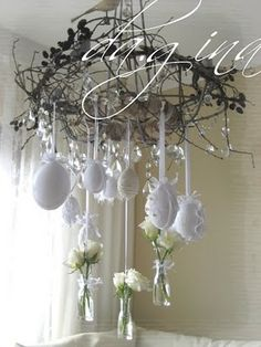 da.gina vintage: maybe .. my Easter decorations!? (German site)