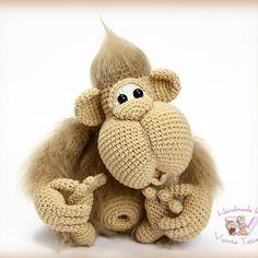 #weamiguru #amiguru_mi #amiguru_mi #amigurumi #knitting #handmade #cute #toys #teddy #амигуруми #вязание #вязанаяигрушка #интересное #ручнаяработа #рукоделие #игрушки #вязанаямартышка #обезьянка #малыш #символ2016года