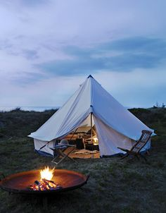Fancy - Canvas Bell Tent (no further info available)