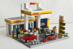 Lego petrol station
