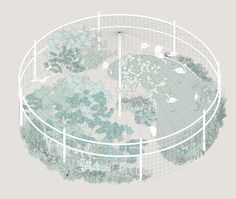 UENO PLANET for Exhibition - MISAWA DESIGN INSTITUTE - Architectural Drawing