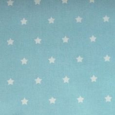 Stars In Turquoise Extra Wide Oilcloth It Is Approximately 160 Cms Wide The  Little Stars Are