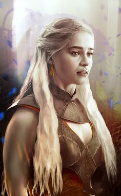 Here is another take on Daenerys Targaryen. This time I used a different style than for the rest of the GoT character in my gallery. I wanted a more realistic look and feel rather than a painterly ...