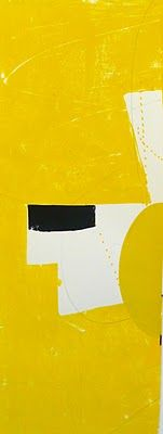 Vincent Hawkins, posted on Thursday, 22 September 2011 Contemporary Abstract Art, Modern Art, Good Day Sunshine, Abstract Words, Amazing Paintings, Colour Field, Yellow Painting, Art Moderne, Abstract Expressionism