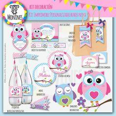 Buhos Nena ideal para Cumpleaños o Baby shower | Monines Diseño