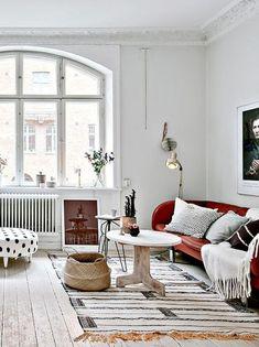Jednostavan eklektičan: Najsavršeniji skandinavski apartman koji smo videli