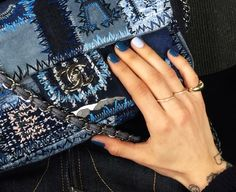 blue jean nails > THREE GIRLS ONE CITY… | TheyAllHateUs