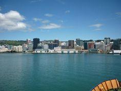 Wellington city. Gorgeous. Such a hip city.
