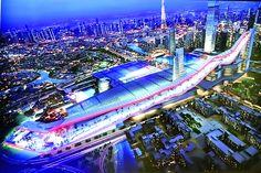 Dubai builds world's longest indoor ski slope - in the desert   Inhabitat - Sustainable Design Innovation, Eco Architecture, Green Building