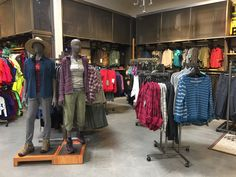 Columbia and REI Mannequins (Women's Casual)