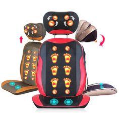 Infrared Lights Healthy Waist Massager Heat Conductor Vibration Massage Adj