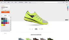 Nike store customization tool