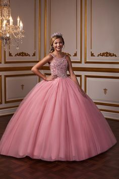 Tiffany Princess 13576 Tulle ball gown featuring a fully beaded bodice, scoop neckline and straps. This look is finished with a corset back. Pagent Dresses, Girls Pageant Dresses, Pageant Gowns, Quinceanera Dresses, Homecoming Dresses, Maxi Dresses, Evening Dresses, Fashion Dresses, Tulle Ball Gown