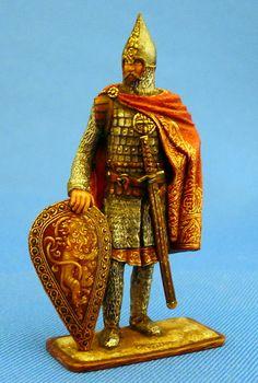 Знатный новгородский воин - 13 век  ММС