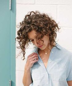 15.Curly Short Hairstyle