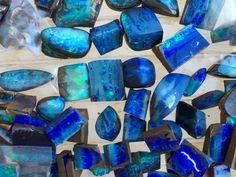 A parcel of Boulder Opal I'm finishing up...Bill Kasso