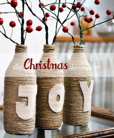 Diy Christmas decoration {joy}