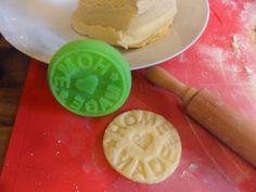 Sabines und Anjas Hobbyeck: Der Krampus liebt Kekse...