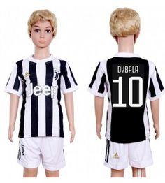 Juventus Paulo Dybala 10 Hemmaställ Barn 17-18 Kortärmad Sports, Tops, Fashion, Hs Sports, Moda, Fashion Styles, Sport, Fashion Illustrations