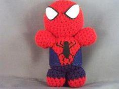 Amigurumi Spiderman!