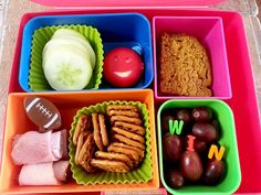 Bento Lunch boxes for picky eaters! #bento #iheartlunch