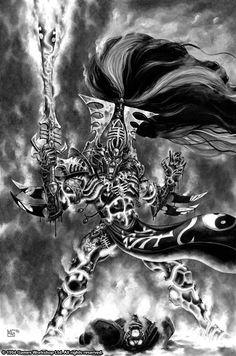 Mark 'Redknuckle' Gibbons - Sons of the Storm - Eldar Avatar