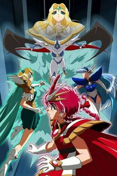 Magic Knight Rayearth, Haruhi Suzumiya, City Hunter, Sailor Moon Crystal, Cardcaptor Sakura, Girls Life, Anime Shows, Magical Girl, Anime Style
