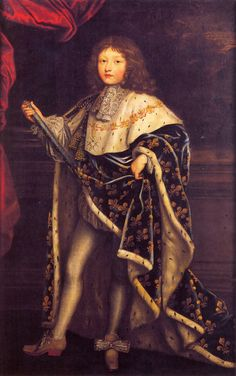 Louis XIV, roi de France, enfant, par Testelin