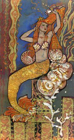 Mermaid by Janet Searfoss