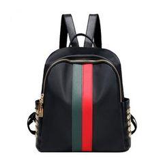 Backpacks: moda que marca el street style - fashioneate Travel Handbags, Fashion Handbags, Boho Chic, Satchel Backpack, Backpack Handbags, Small Backpack, Travel Backpack, Diy Purse, Estilo Boho