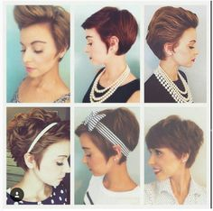 How to style a pixie hair cut