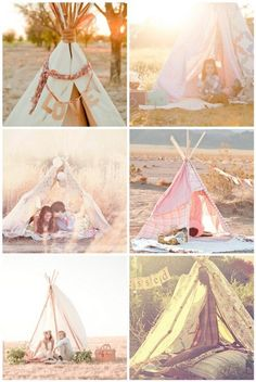 This summer it's all about teepees of all shapes & sizes