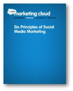 Especially at the start of implementing any social media strategy, it's important to remember that the whole platform is breathing and ever-changing - use 6 Principles to Social Media Marketing by Salesforce to help you! Free Download! Data Quality, Social Media Marketing Business, Business Opportunities, Infographics, Ebooks, Career, Platform, Learning, Carrera