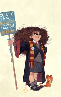 so much yes to the character of Hermione Granger